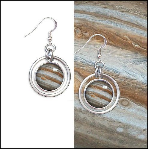 Jupiter Hoop Earrings