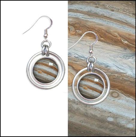 Jupiter Hoop Earrings