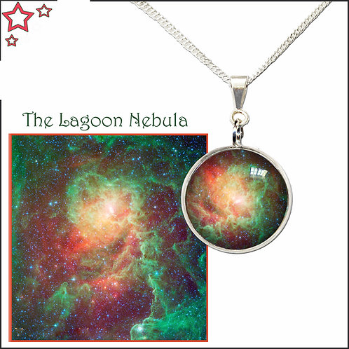 Lagoon Nebula Pendant