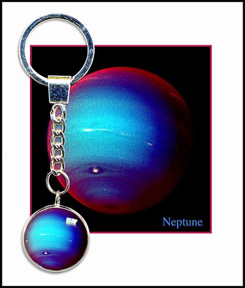 Neptune Keyring