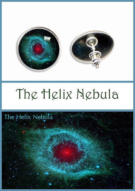 Helix Nebula Studs/Clips