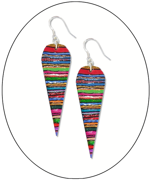 Jazzy Teardrop Earrings