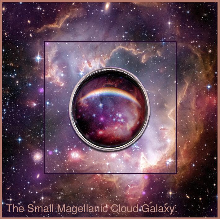 Magellanic Cloud Galaxy Pin