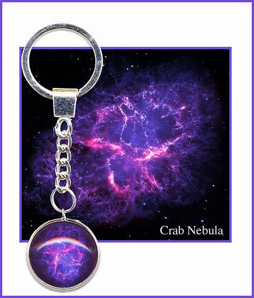 Crab Nebula Keyring