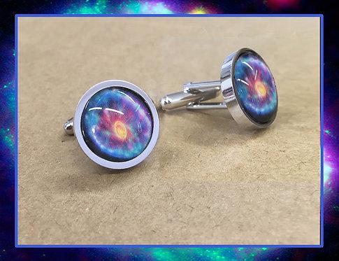 Cartwheel Galaxy Cufflinks