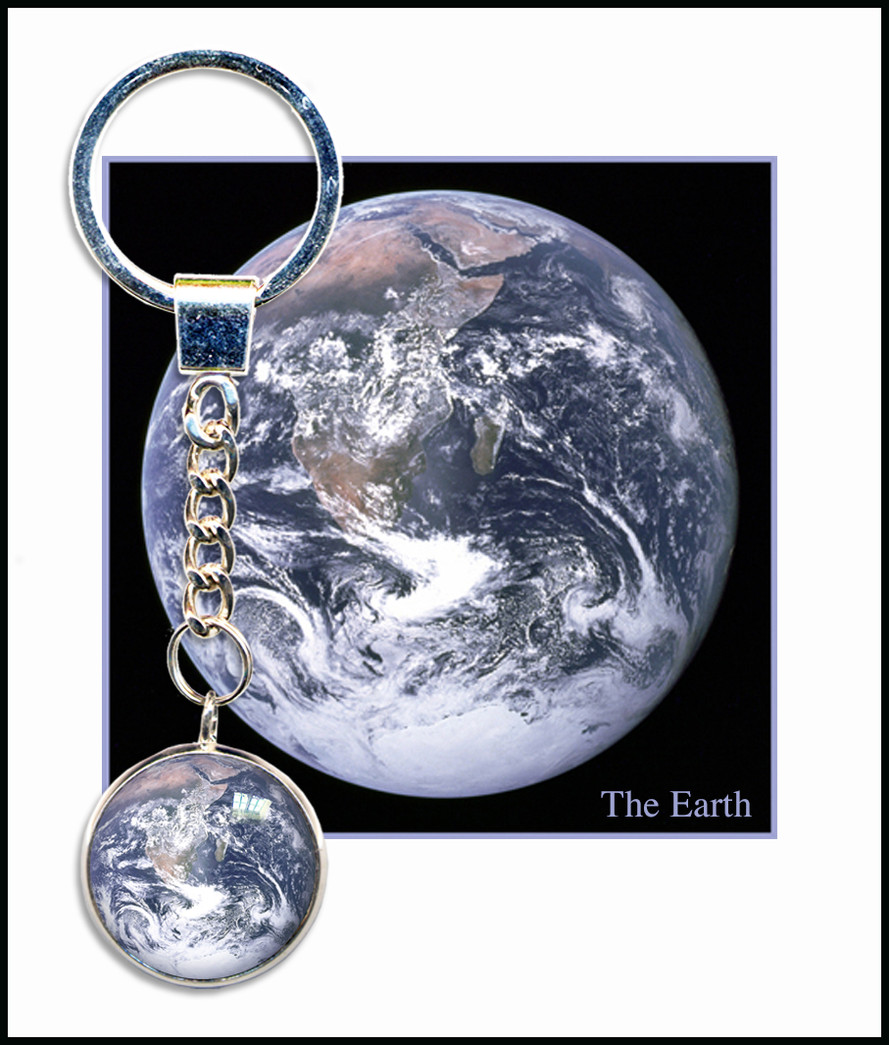 Earth Keyring