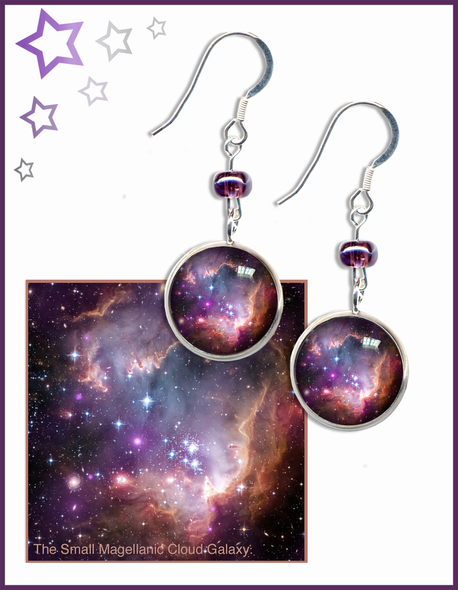 Nebula & Galaxy Earrings