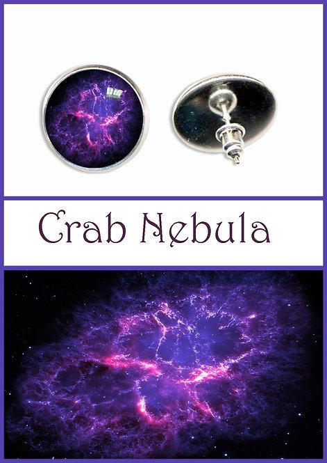 Crab Nebula Studs/Clips