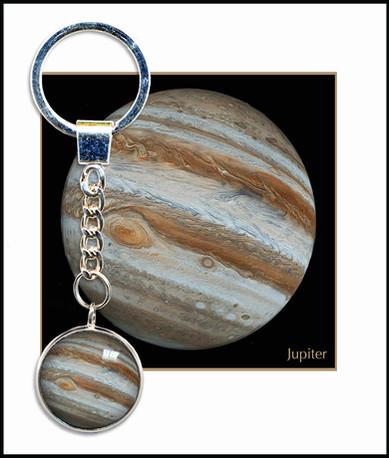Jupiter Keyring