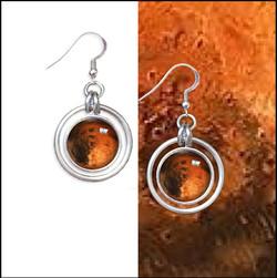 NEW! Planet Hoop Earrings