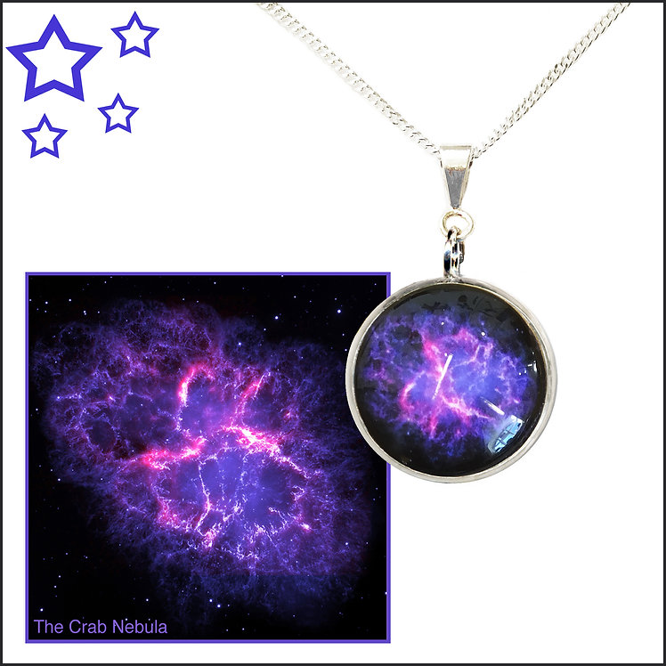 Crab Nebula Pendant