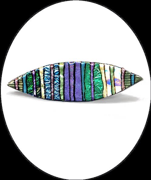 Pale oval brooch
