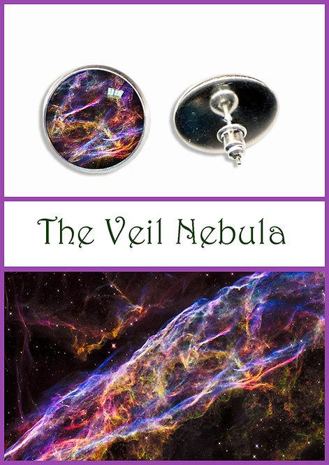 Veil Nebula Studs/Clips