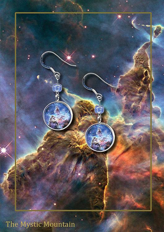 Mystic Mountain drop earrings