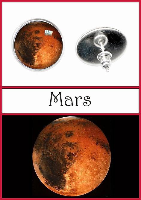 Mars Studs/Clips