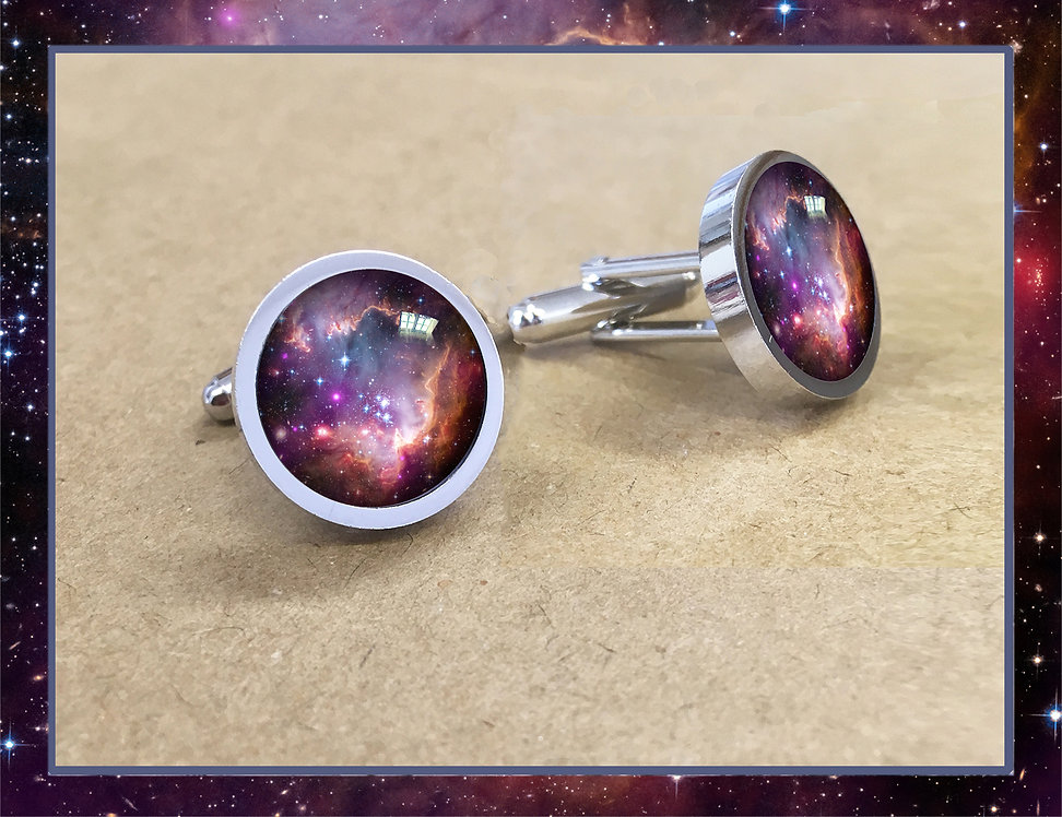 S.M.C.Galaxy Cufflinks