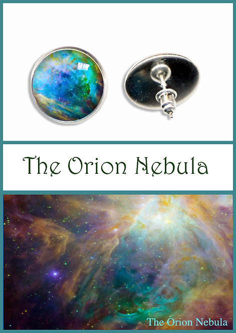 Orion Nebula Studs/Clips