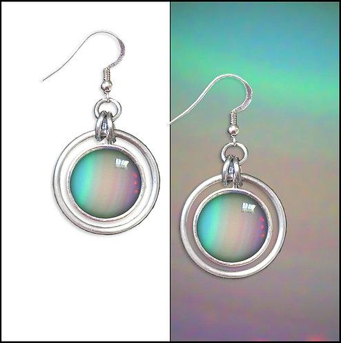 Uranus Hoop Earrings