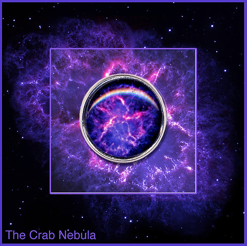 Crab nebula Pin