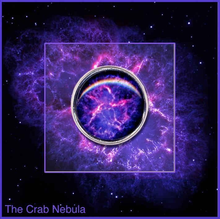 Crab Nebula pin