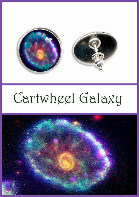 Cartwheel Galaxy Studs/Clips