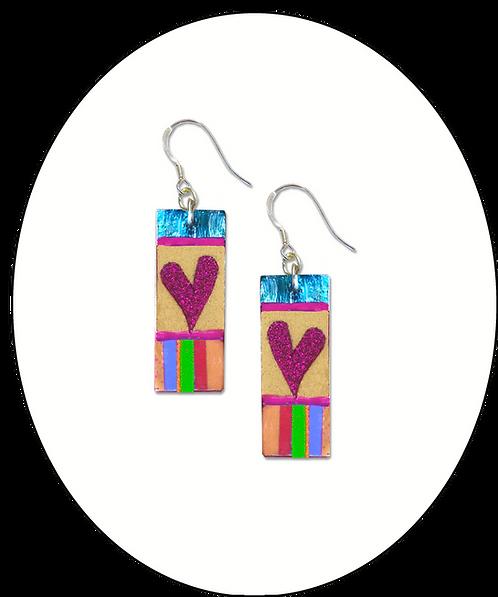 Jazzy Heart Earrings