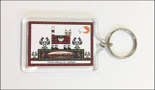 Scottish Key Ring
