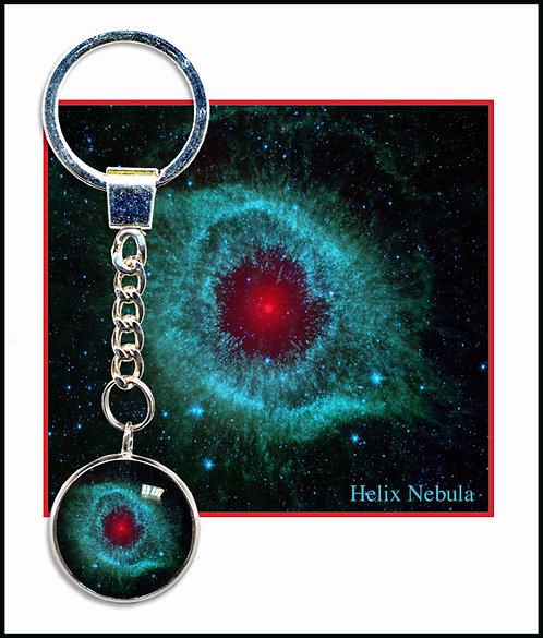 Helix Nebula Keyring