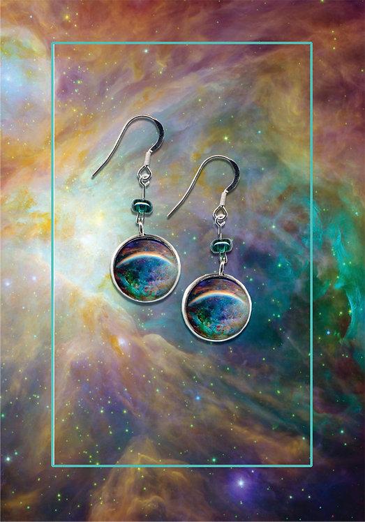 Orion Nebula Earrings