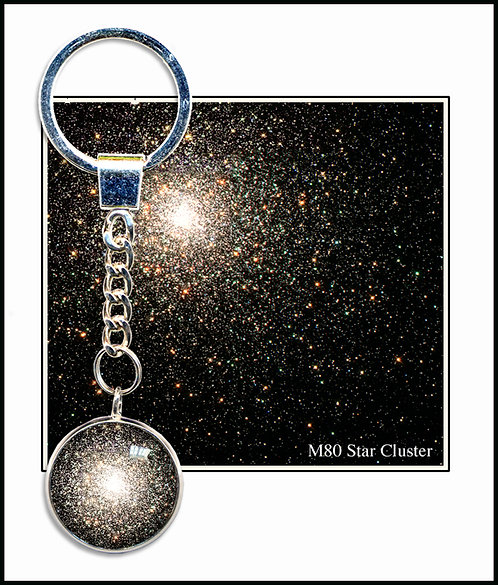 Star Cluster Keyring