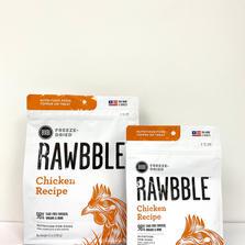 Dog Freeze-Dried Food RAWBBLE Chicken Recipe