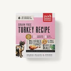 Cat Dehydrated Food The Honest Kitchen Grain Free Turkey Recipe