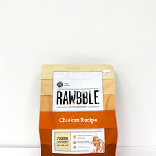 Dog Dry Food RAWBBLE Chicken Recipe
