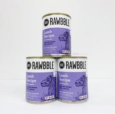 Dog Wet Food RAWBBLE Lamb Recipe with Pumpkin