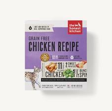 Cat Dehydrated Food The Honest Kitchen Grain Free Chicken Recipe
