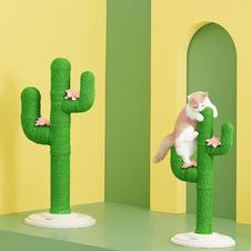 Cat Cactus Scratcher Post