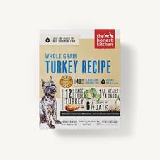Dog Dehydrated Food The Honest Kitchen Whole GrainTurkey Recipe
