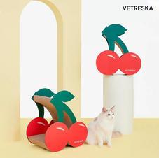 Cat Scratcher Cherry