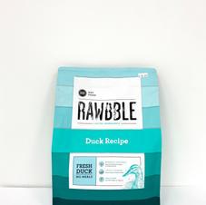 Dog Dry Food RAWBBLE Duck Recipe