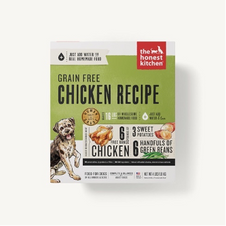 Dog Dehydrated Food The Honest Kitchen Grain Free Chicken Recipe