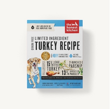 Dog Dehydrated Food The Honest Kitchen Grain Free Limited Ingredient Turkey Recipe