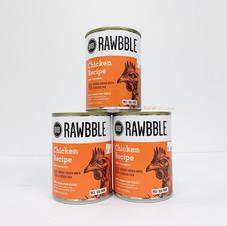 Dog Wet Food RAWBBLE Chicken Recipe with Pumpkin