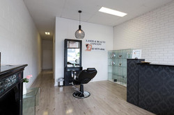 Laser and Beauty Concept