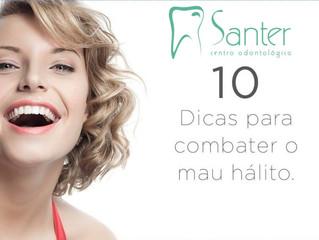 10 dicas para combater o mal hálito.