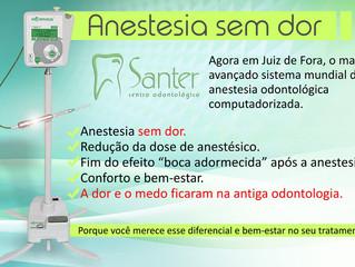 Sistema de anestesia odontológica computadorizada: a dor e o medo ficaram na antiga odontologia.