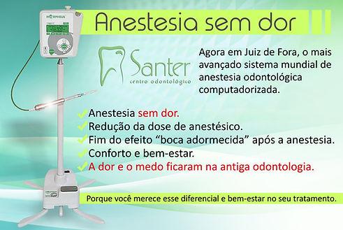 Anestesia sem dor Juiz de Fora - Clinica Santer