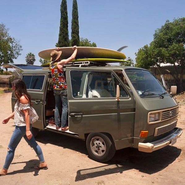 Epoch Restorations and Adventures Vintage Van Rental Los Angeles Santa Monica Ojai