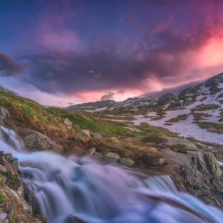 Grimsel Wasserlauf