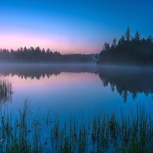 Etang -morgenlicht