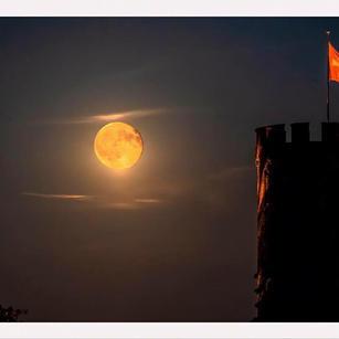 Schloss im Mondschein